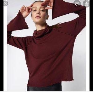 Alala Riki Cowl Neck Sweatshirt